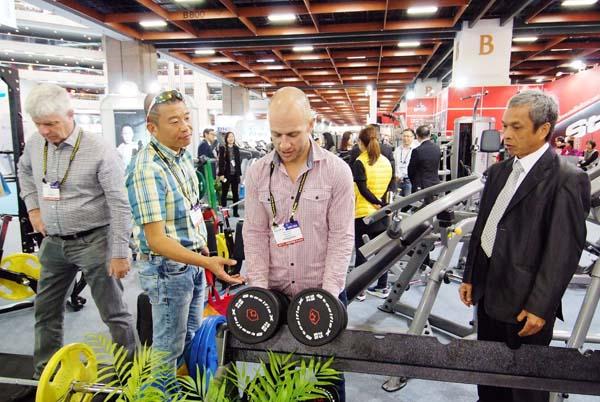 圖1:台北國際體育用品展參展廠商產品高CP值,深受國際買主肯定